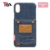 日本正版限定 拉拉熊 牛仔口袋版   iPhone X 對應 手機保護殼套 / 手機殼