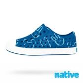 native 小童鞋 JEFFERSON 小奶油頭鞋-維多利亞藍