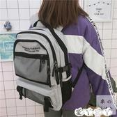 書包 日繫原宿風書包 韓國高中學生街拍多層次大容量後背包男女背包 新品