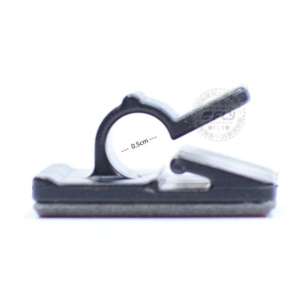 《飛翔無線3C》3M背膠 C型線夾│訊號線固定扣 無線電整線 騎士通線材扣環 汽車黏貼扣 重機車安裝