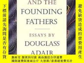 二手書博民逛書店Fame罕見And The Founding FathersY364682 Douglass Adair Li