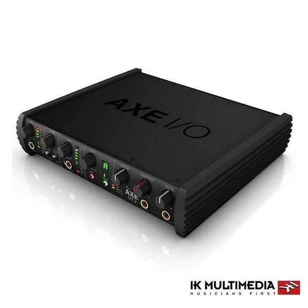 唐尼樂器︵[公司貨免運] IK Multimedia AXE I/O 錄音介面 多功能控制器音效卡 總代理 一年保固