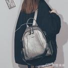 皮革後背包雙肩包女年新款時尚韓版百搭超火女士軟皮小書包旅行背包 麥吉良品