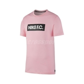 Nike 短袖T恤 F.C. Tee 粉紅 黑 男款 短T 足球系列 運動休閒 【ACS】 CT8430-654