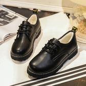 森雅誠品 日系軟妹JK制服鞋學生百搭森系娃娃鞋冬季加絨英倫風大頭小皮鞋女