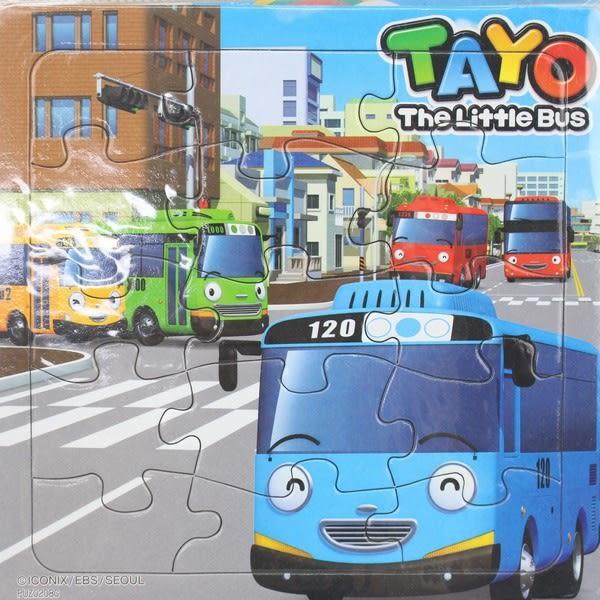 TAYO小巴士拼圖 士耘PUZ0208 15片幼兒拼圖/一個入{特50}可愛拼圖 MIT製~正版授權