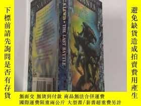 二手書博民逛書店Narnia罕見the last battle 納尼 亞 最 後一戰.Y200392
