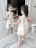 女童夏裝漢服裙子2021新款童裝旗袍女孩公主裙洋氣兒童連衣裙夏季