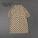 Queen Shop【01084793】女裝 親子系列 波點燈芯絨洋裝 S/M/L*現+預*