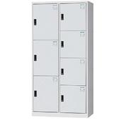 【時尚屋】DJ多用途鋼製辦公置物櫃(19-5)灰