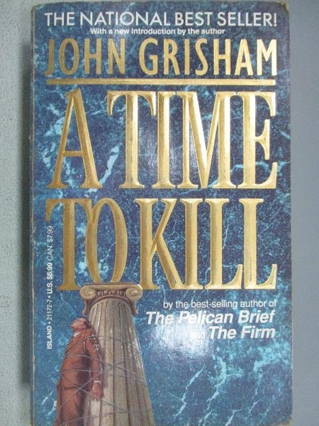 【書寶二手書T7/原文小說_MOI】A Time To Kill_John Grisham