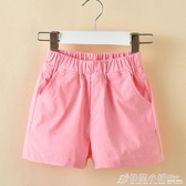 童裝夏裝女童薄款短褲夏季新款中大童褲子休閒兒童外穿熱褲潮 格蘭小舖