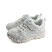 MoonStar 運動鞋 魔鬼氈 白色 童鞋 MSTW011 no169