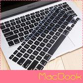 【萌萌噠】MacBook Air/Pro/Retina 英文版 炫彩透光 蘋果筆電鍵盤膜 筆記本 矽膠保護膜 支援全機型
