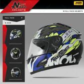 [安信騎士] Nikko NK-805 NK805 #6 黑藍 全罩 安全帽 內襯全可拆 免運 送好禮二選一
