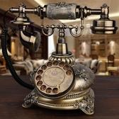 GDIDS仿古電話機歐式復古田園時尚創意無線插卡電話機家用座機 陽光好物