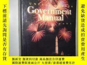 二手書博民逛書店United罕見States Government Manual