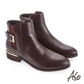 A.S.O 質感嚴選 輕鬆穿脫真皮美靴