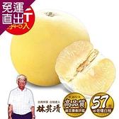 ㊣台南林家 57年在地老欉大白柚-特A級!直送1箱 (10台斤/箱)4-5顆【免運直出】