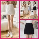 韓系高腰顯瘦a字短裙 共3色 S-XL 依二衣