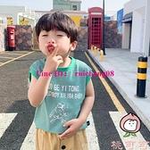 男童無袖背心夏季韓版休閒細條紋小可愛兒童寶寶小背心【桃可可服飾】