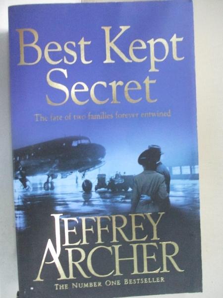 【書寶二手書T8/原文小說_IJ7】Best Kept Secret_Jeffrey Archer