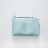 3C配件收納包-淺藍