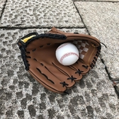 世霸龍皮革加厚棒球手套兒童少年成人捕手投手棒球套接球手套壘球