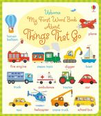 My First Word Book About Things That Go 我的交通工具學習書