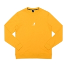 KANGOL 運動上衣 長袖 橘黃色 小袋鼠刺繡LOGO 6055101662 noE24
