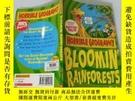 二手書博民逛書店Bloomin 罕見Rainforests:雨林開花Y200392
