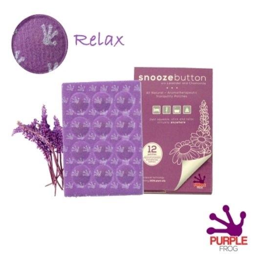 「客尊屋」Purple Frog舒緩精油膠囊貼片(12入/盒)