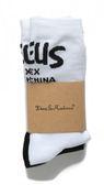 Deus Ex Machina Curvy Sock 襪子-男/女(黑白)