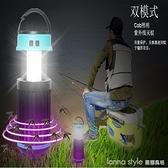 新款多功能滅蚊燈 USB充電太陽能戶外野營燈COB帳篷捕蚊器 探照燈 lanna