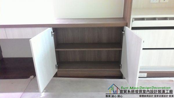 系統家具/系統櫃/木工裝潢/平釘天花板/造型天花板/工廠直營/系統家具價格/系統書桌書櫃-sm0557