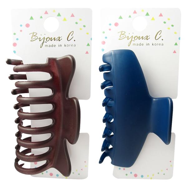 Bijoux C G50056/G50049 韓製大鯊魚夾(1入) 簡約/經典 兩款可選【小三美日】髮飾