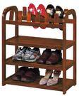 【南洋風休閒傢俱】時尚鞋櫃系列-實木3層鞋架 SB386-3