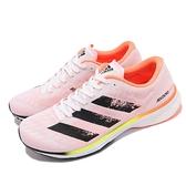 adidas 競速鞋 Adizero Adios 5 M 路跑 馬拉松 黑 橘 男鞋 愛迪達【ACS】 FY2020