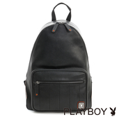 PLAYBOY- 後背包 新摩登系列-黑色