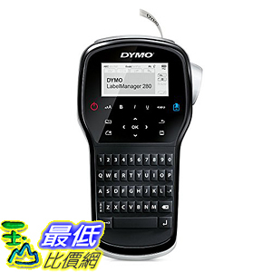 [美國直購] DYMO 1815990 LabelManager 280 Rechargeable Hand-Held Label Maker 標籤機