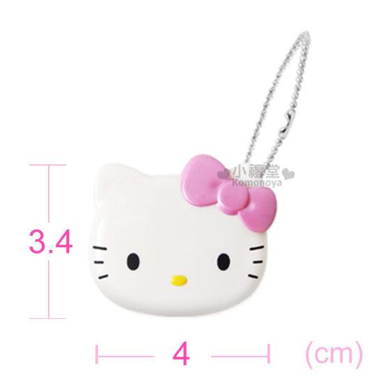 〔小禮堂〕Hello Kitty 造型隨身碟《粉.大臉.16G》輕巧可愛好攜帶4712389-89848