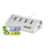 [104 美國直購] Anker 30W 4孔 集線器 4-Port Aluminum USB Desktop Charger AK-AK-68ANHUB-02S4A _ff27