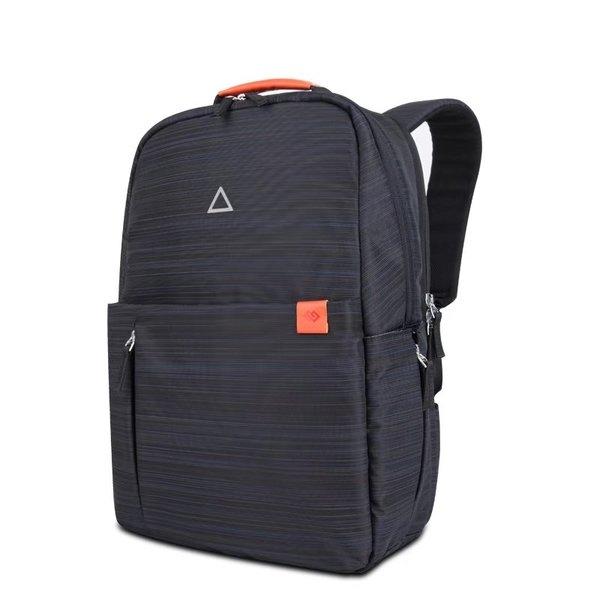 GEARMAX 吉瑪仕 糖果背包 15吋 筆記本電腦 雙肩 防水帆布 夜間反光警示 3D波點 防震 收納 多功能