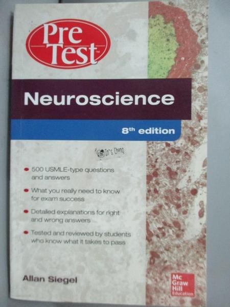 【書寶二手書T4/大學理工醫_NQE】Neuroscience : Pretest self-assessment an
