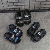 童鞋男童涼鞋新品夏季全館免運兒童沙灘鞋中大童迷彩休閒正韓露趾女童滿699元88折鉅惠