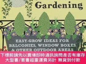 二手書博民逛書店RHS罕見Little Book of Small-Space Gardening: Easy-grow Idea