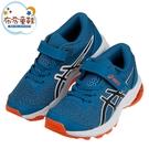 《布布童鞋》asics亞瑟士GT1000里包恩藍兒童機能運動鞋(17.5~22公分) [ J1C191B ]