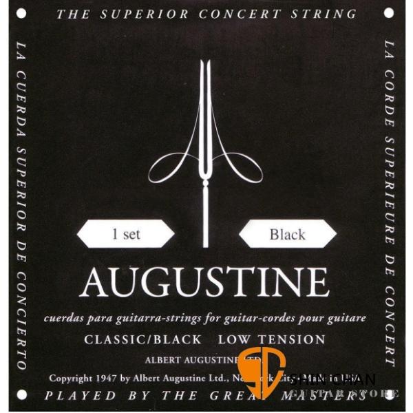 AUGUSTINE 低張力古典吉他弦 黑色 Classic/Black Low Tension