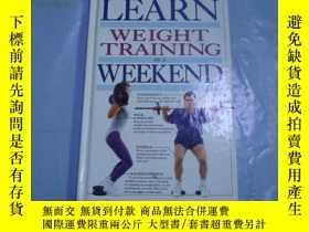 二手書博民逛書店Learn罕見Weight Training In A Week