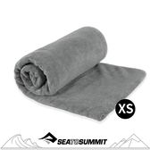 【Sea to Summit 澳洲 TEK TOWEL 舒適快乾毛巾XS《灰》】STSATTTEK/毛巾/浴巾/旅遊/快乾毛巾